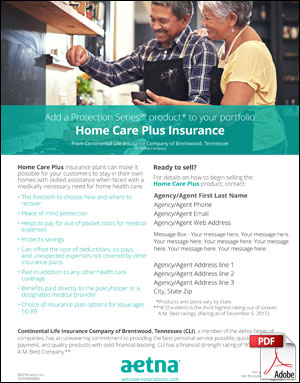 Home Care brochure